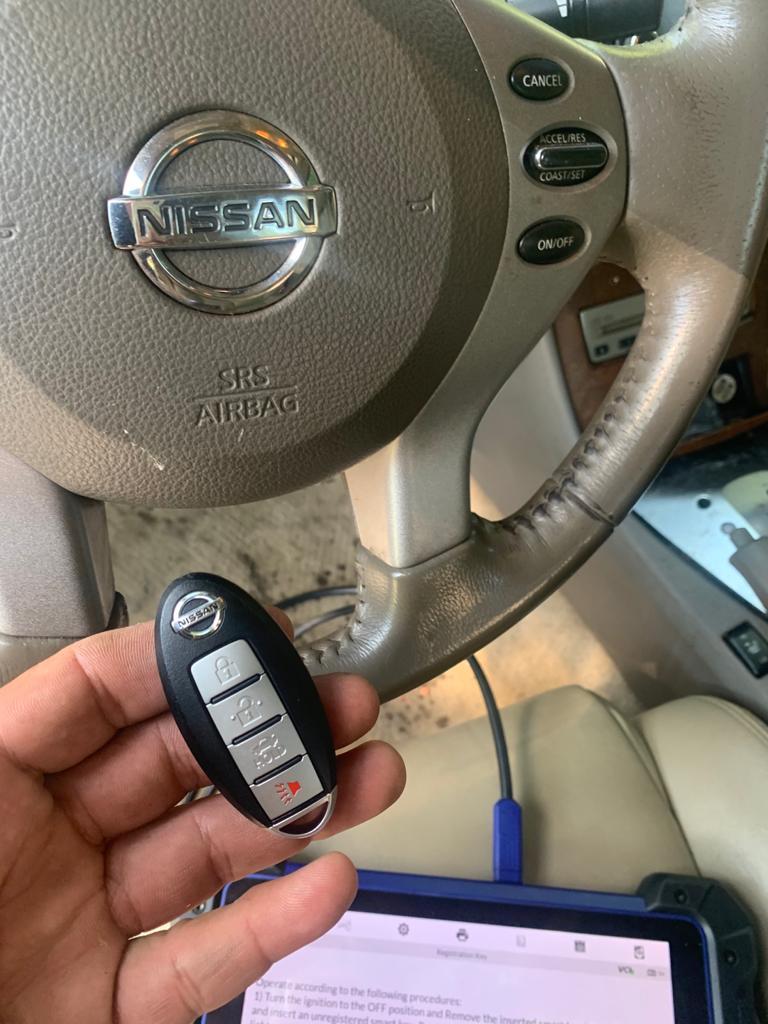 Advanced Lock And Key - Coding Nissan key (1)